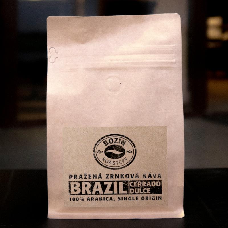Prazena zrnkova kava - Brazil Cerrado Dulce NY2 fine cup - single origin arabica